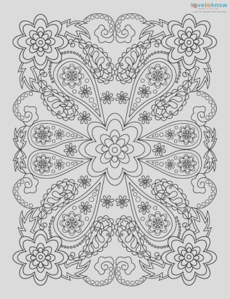 adult coloring pages stress relief