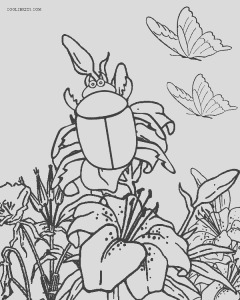bug coloring pages