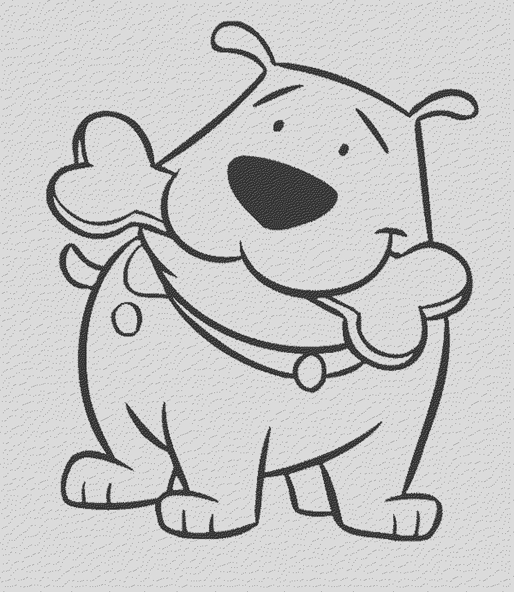 courage the cowardly dog coloring page