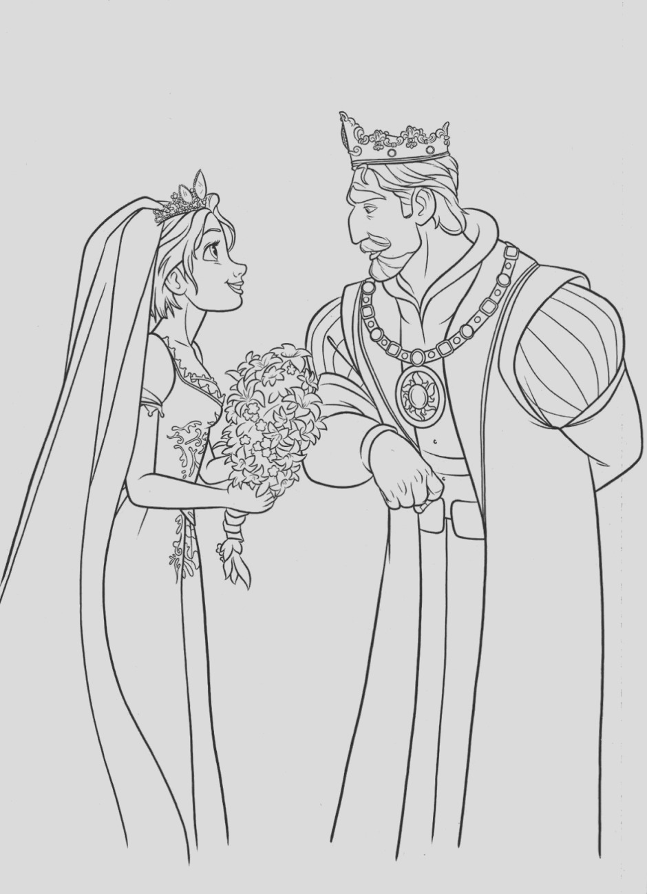 tangled free printable coloring pages