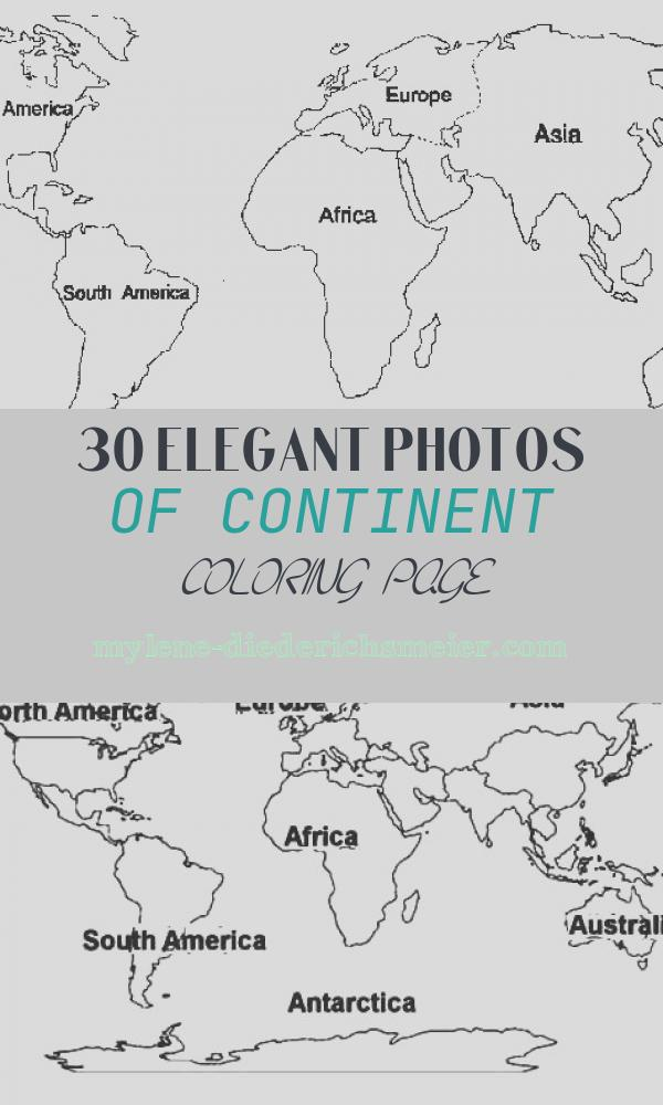 Continent Coloring Page Lovely 7 Continents Coloring Pages