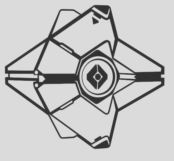 destiny ghost drawing easy