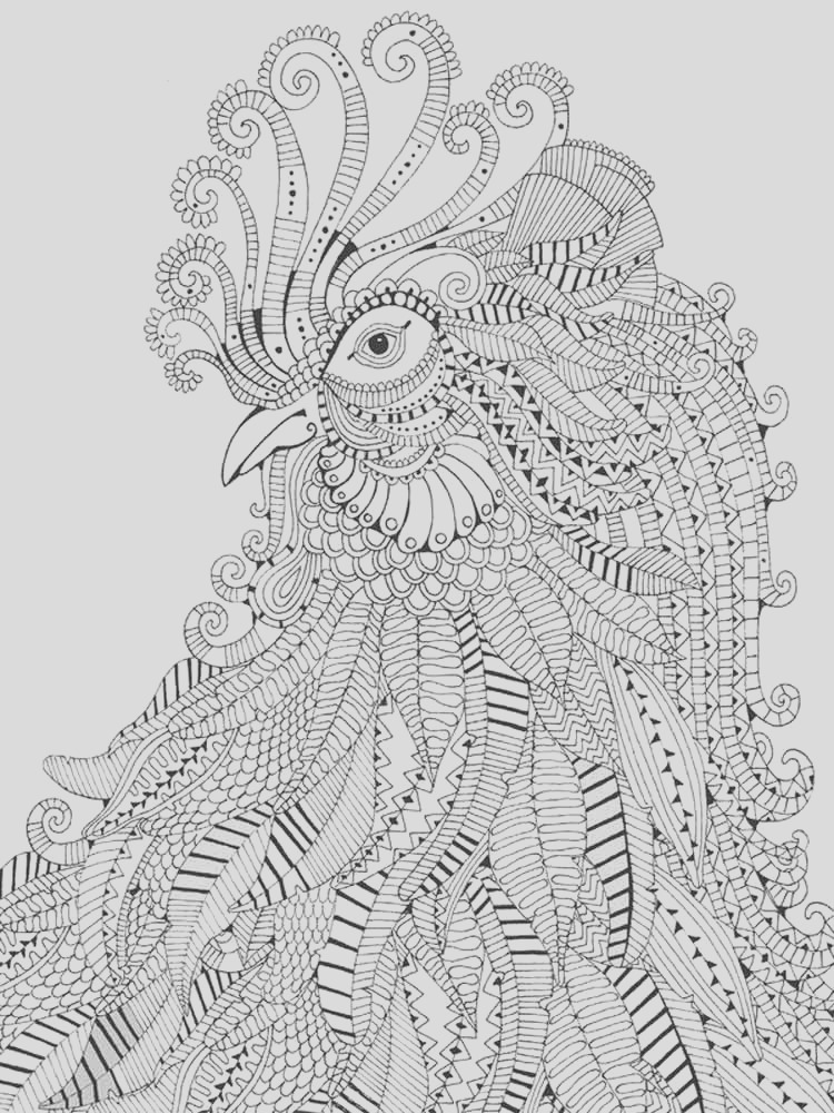 difficult coloring pages for adult