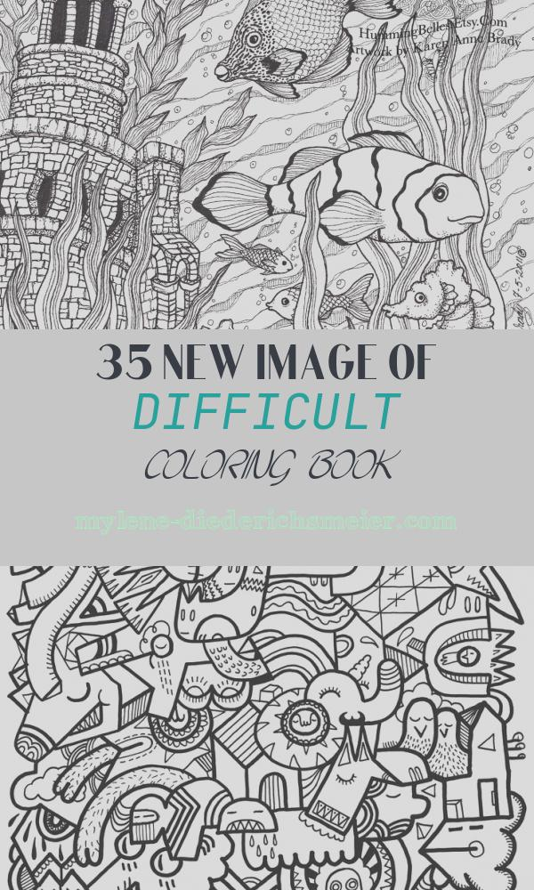 Difficult Coloring Book Inspirational Printable Difficult Coloring Pages Coloring Home