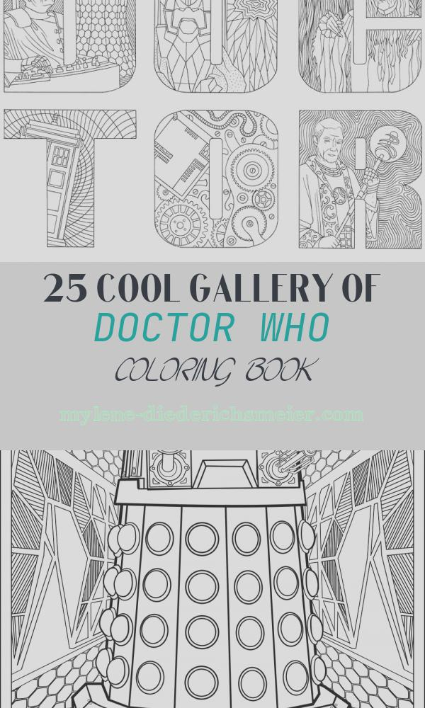 Doctor who Coloring Book Best Of Doctor who the Colouring Book – Merchandise Guide the