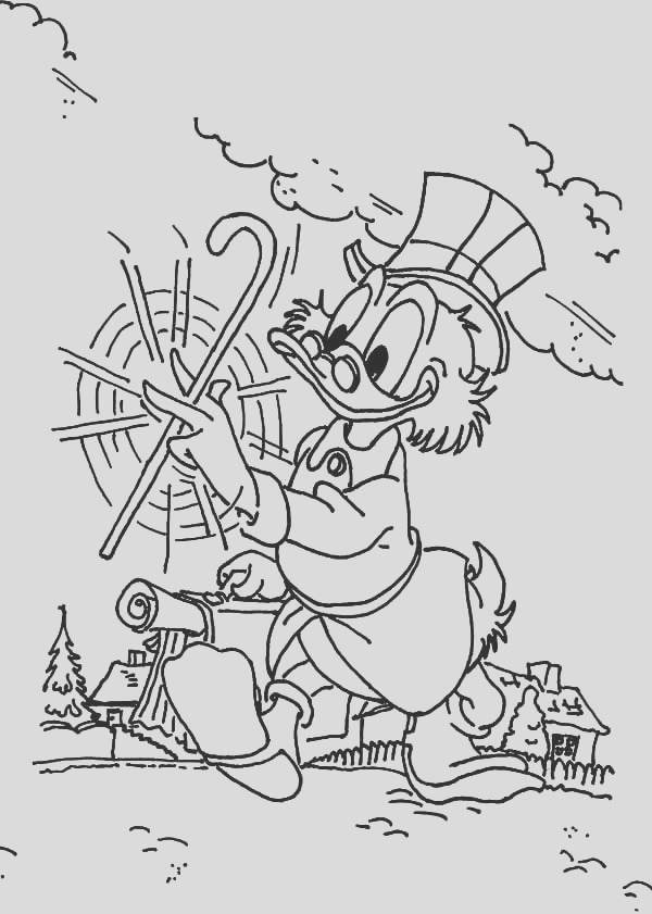 printable ducktales coloring pages