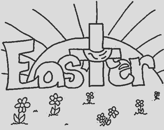 christian easter coloring pagespix done