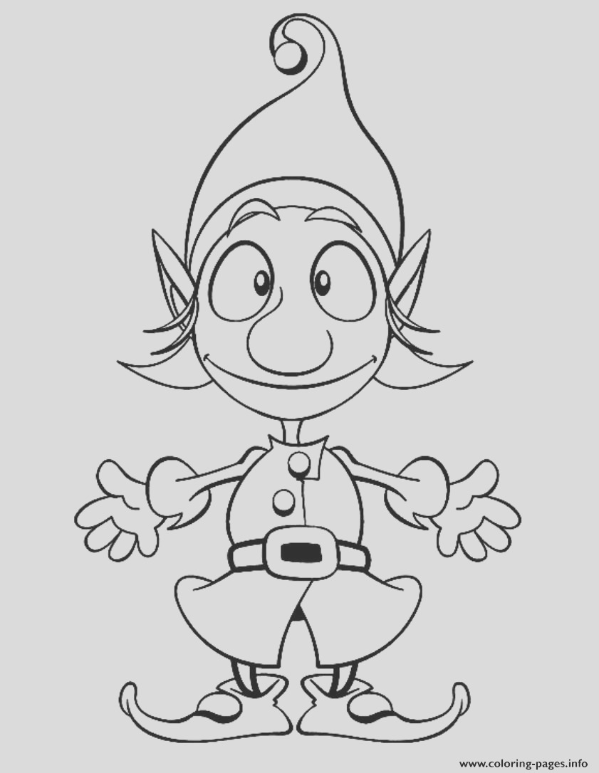 christmas elf s for kids91de printable coloring pages book 5852