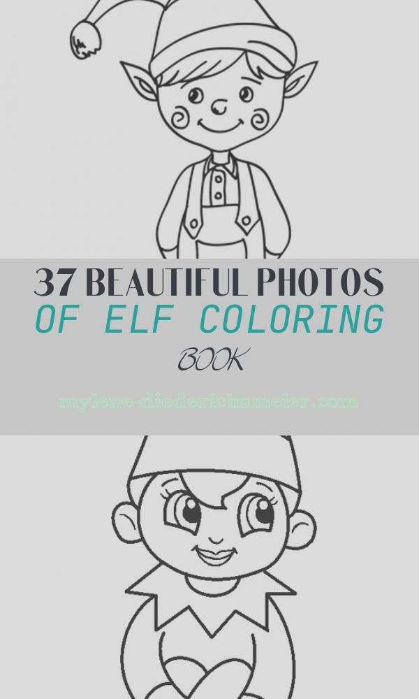Elf Coloring Book Inspirational Free Printable Elf Coloring Pages for Kids