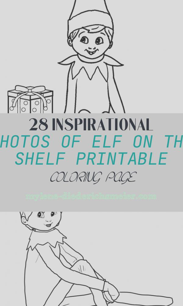 Elf On the Shelf Printable Coloring Page Elegant Free Printable Elf Coloring Pages for Kids