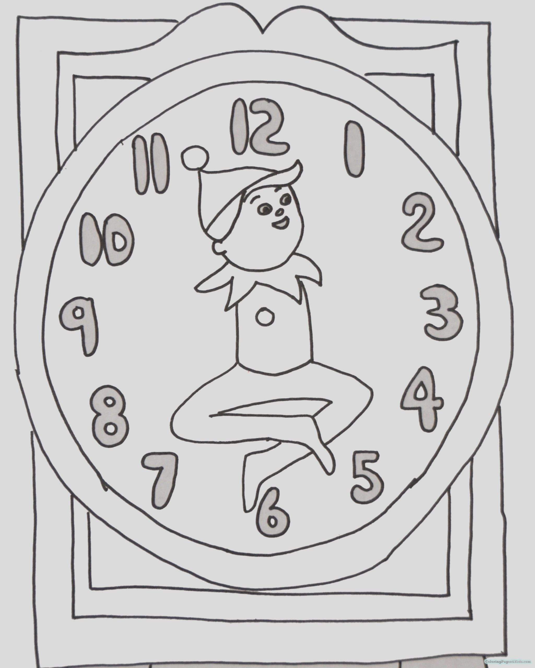 elf on the shelf coloring pages 1024