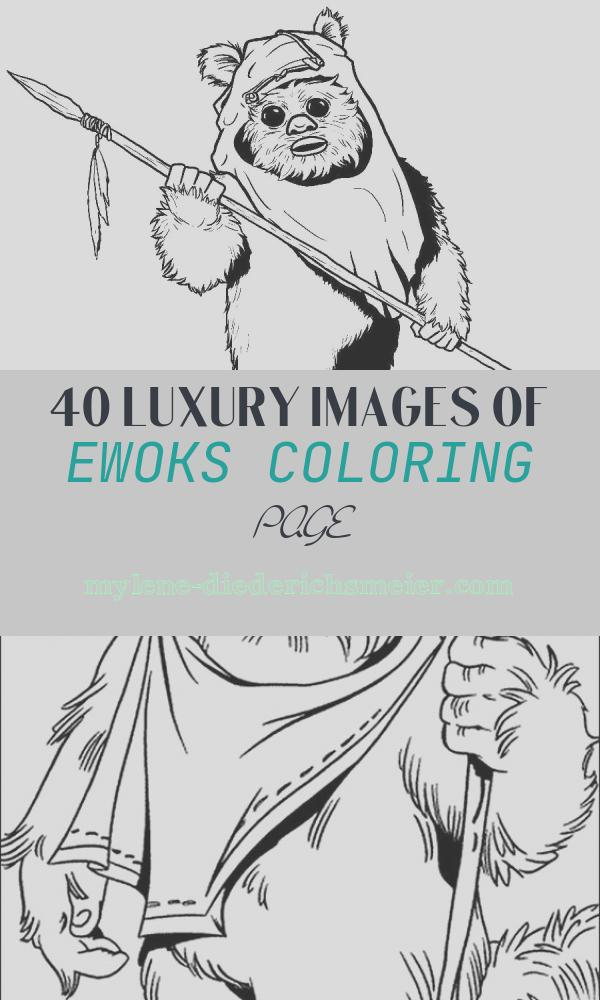Ewoks Coloring Page Fresh Ewok Coloring Pages Coloring Home