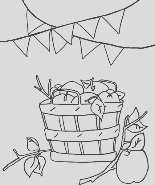 cute fall coloring pages for kids