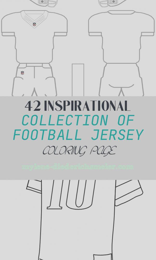 Football Jersey Coloring Page Best Of Blank Football Jersey Coloring Page Coloring Home