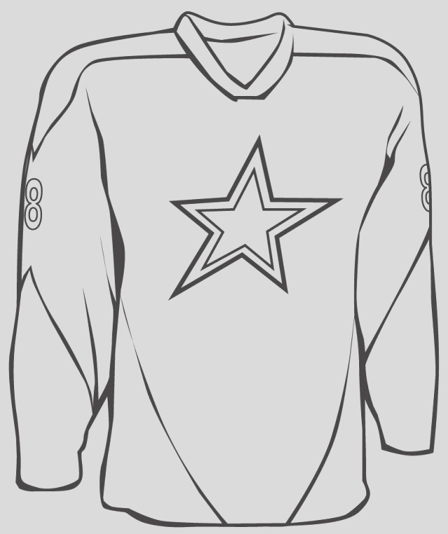 football jersey coloring pages