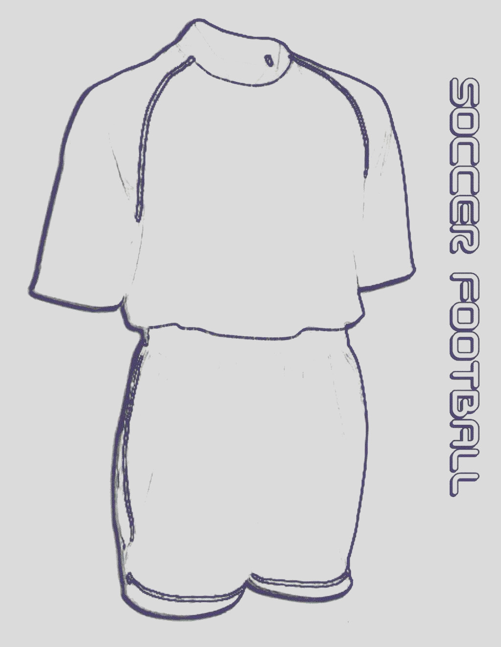 best sketch drawing soccer jersey coloring pages