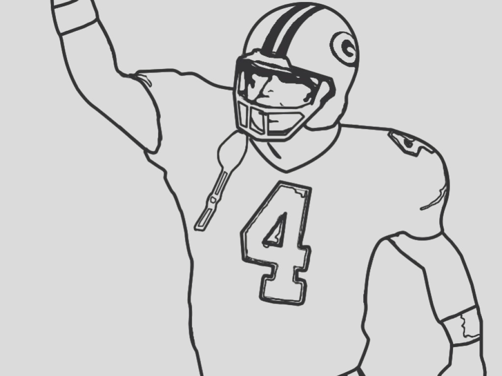 football jersey coloring page