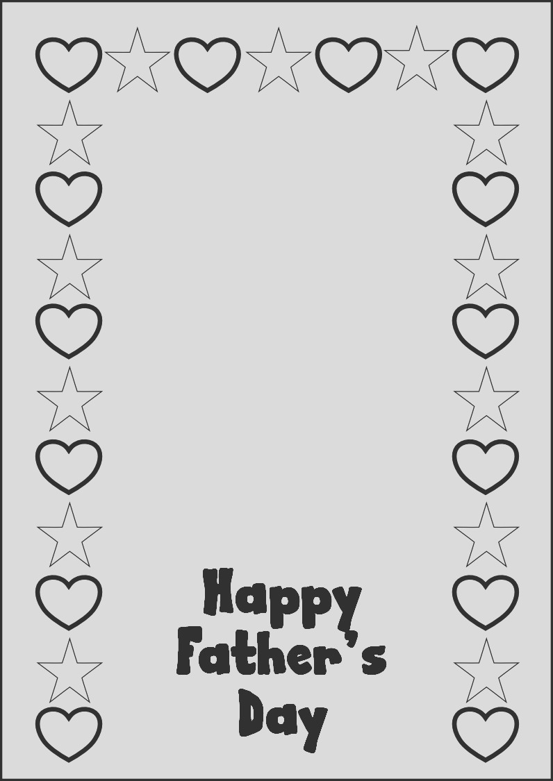 fathers day colouring pagestml