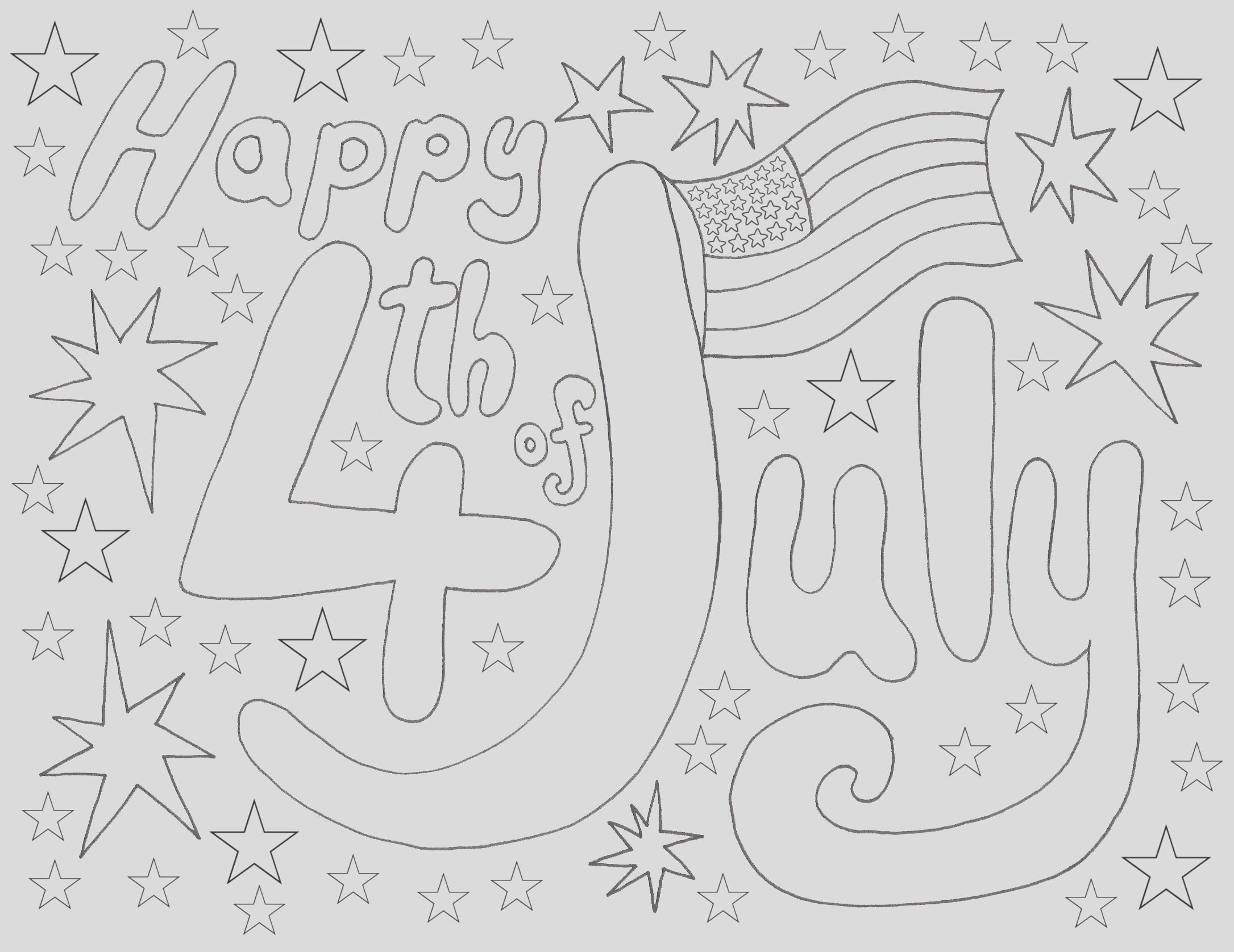 july 4th coloring