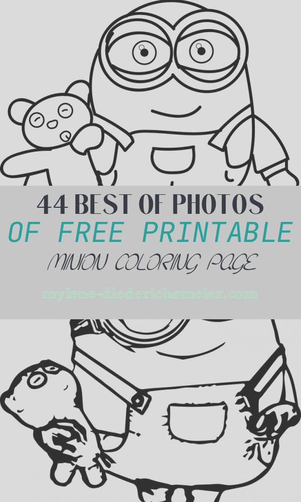 Free Printable Minion Coloring Page Best Of Minion Coloring Pages Best Coloring Pages for Kids