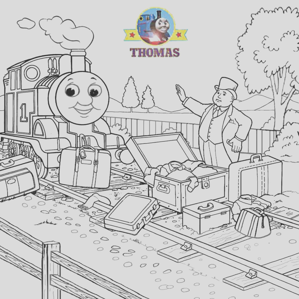 thomas train coloring pictures for kids