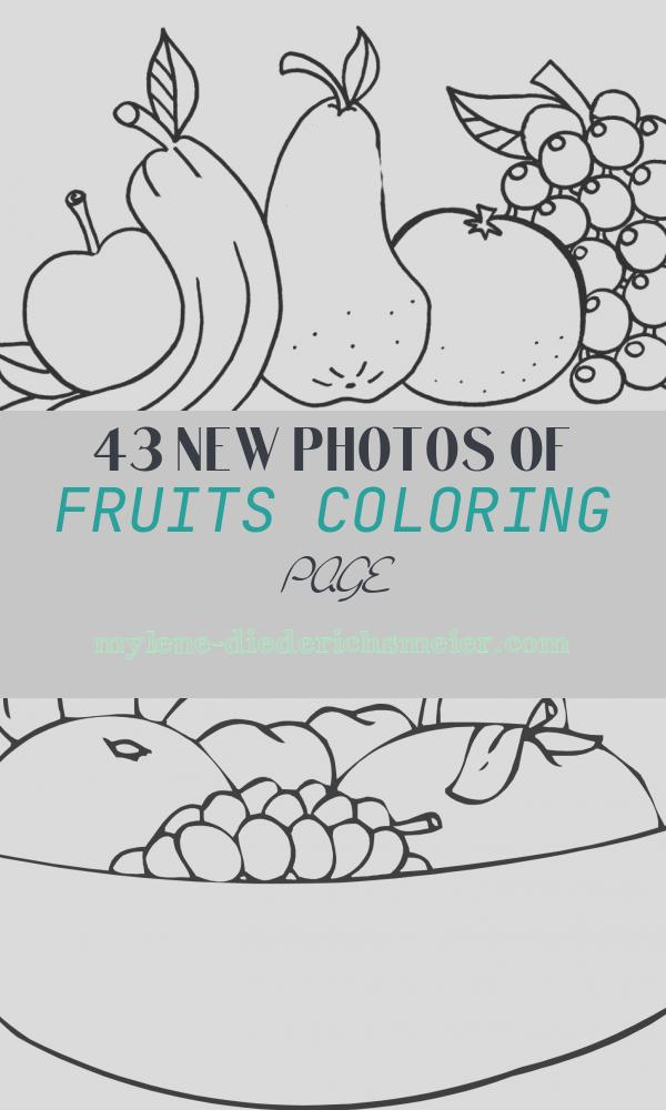 Fruits Coloring Page Inspirational Free Printable Fruit Coloring Pages for Kids