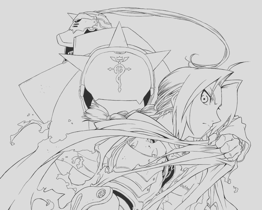 Fullmetal Coloring page