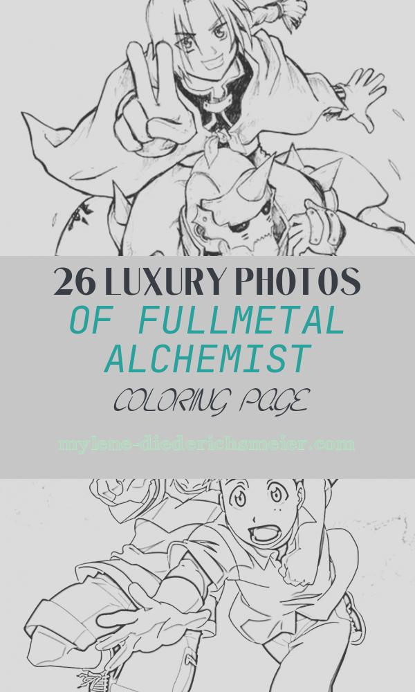 Fullmetal Alchemist Coloring Page Lovely Fullmetal Alchemist Coloring Pages Print