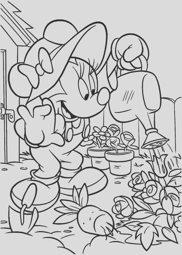 gardening coloring pages