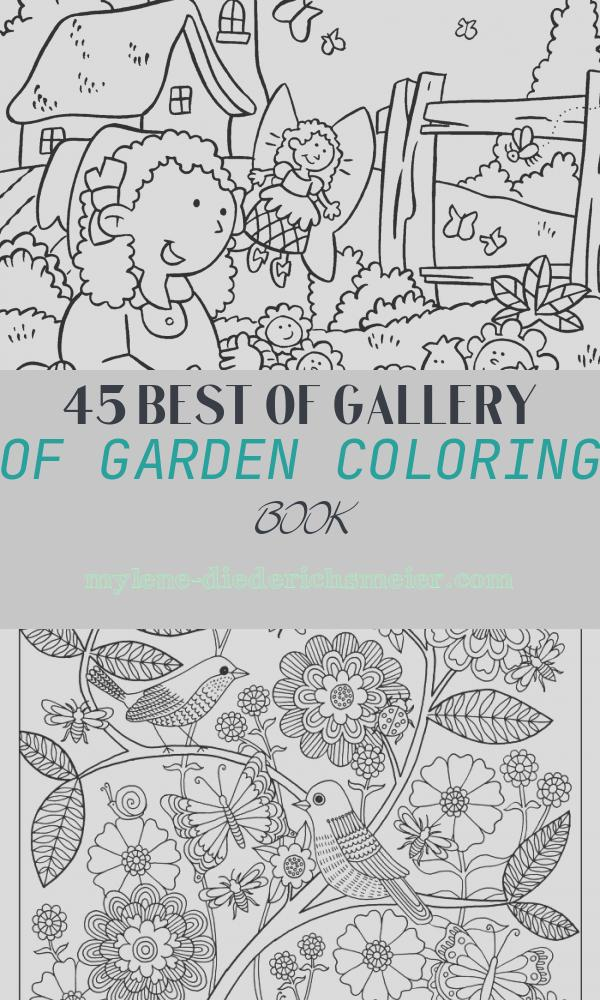 Garden Coloring Book Elegant My Little House Anna and the Flower Garden Coloring Pages