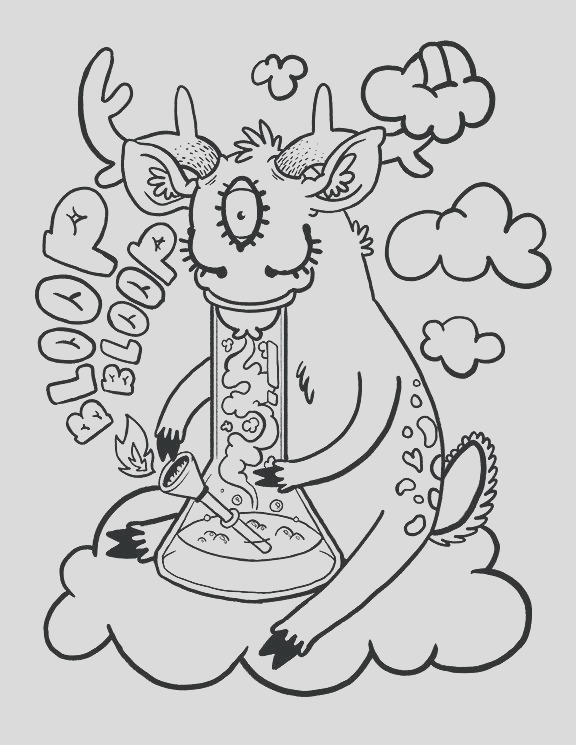 gila monster coloring page