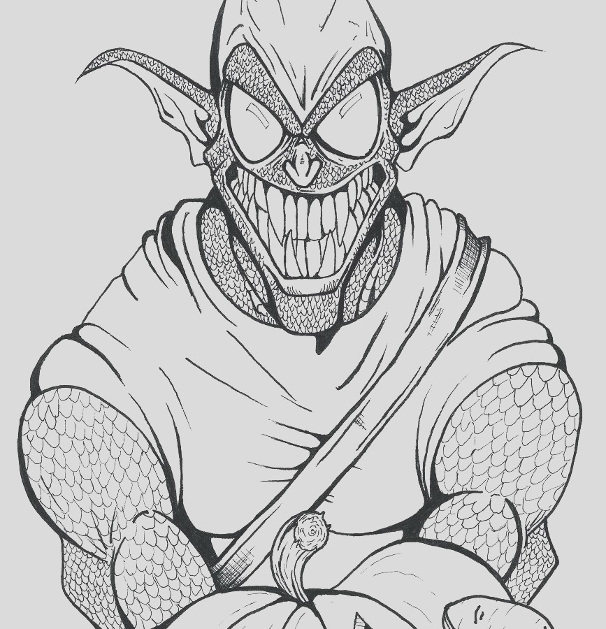 goblin coloring pages