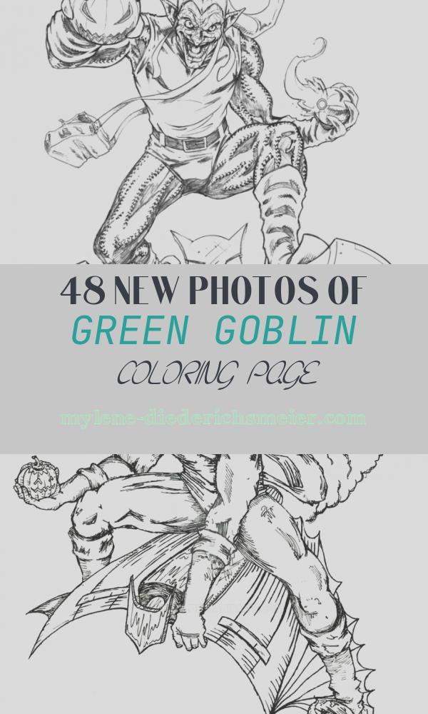 Green Goblin Coloring Page New Green Goblin Coloring Pages