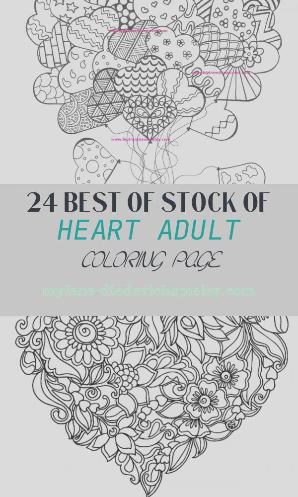 Heart Adult Coloring Page Unique Adult Coloring Page for Grown Ups Heart by Bigtranchsoap