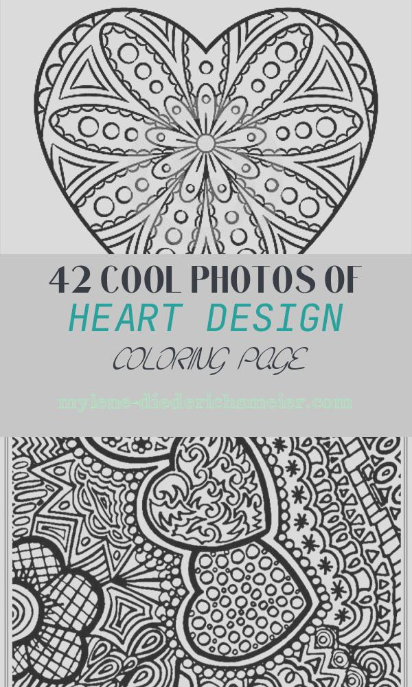 Heart Design Coloring Page Lovely 7 Heart Coloring Pages Jpg Ai Illustrator Download