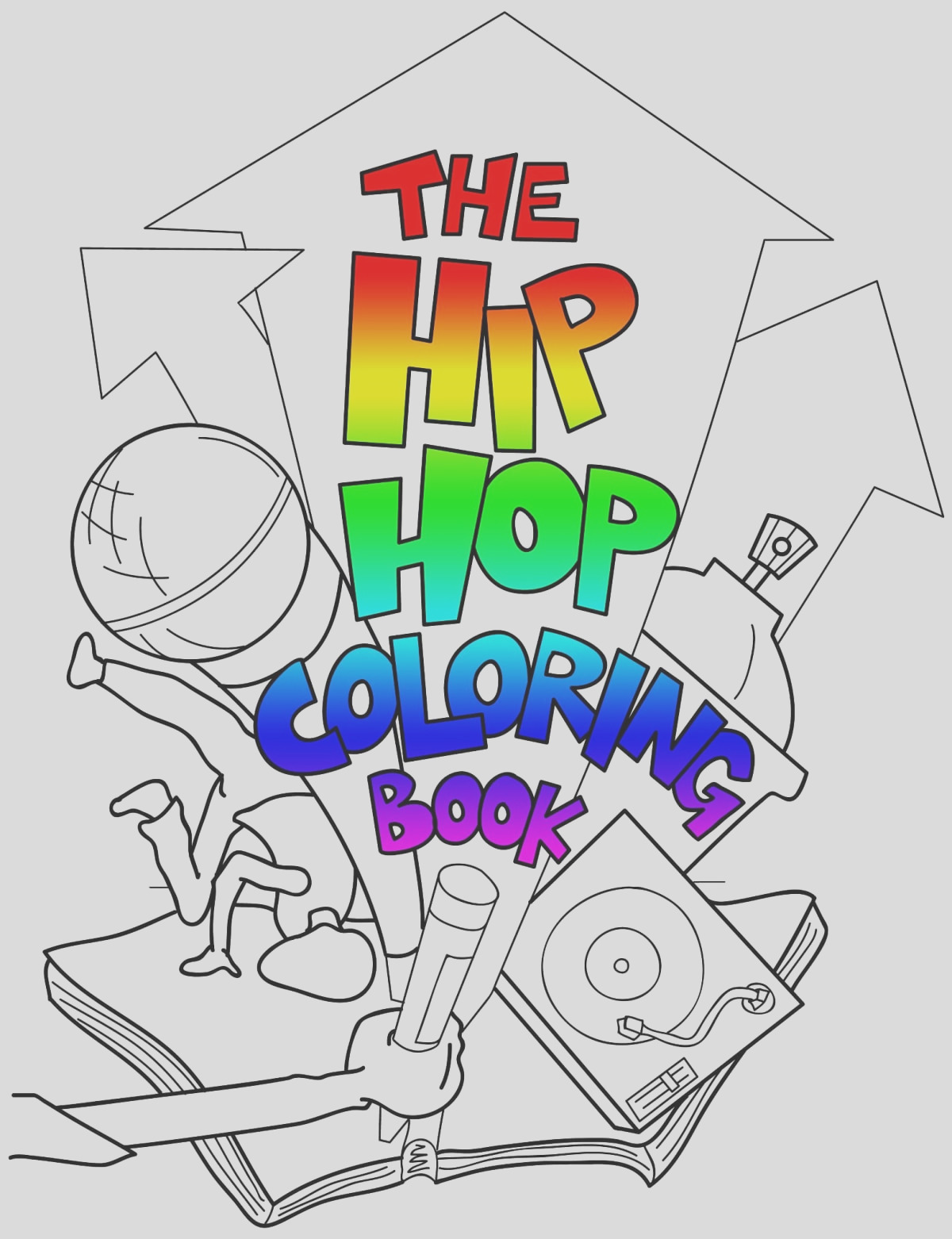 learn the history of rap with the hip hop coloring book