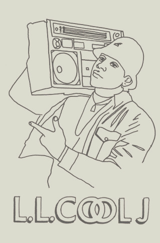 licensed to fill hip hop colouring book