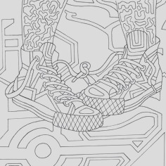 hip hop coloring book piled by jamee schleifer