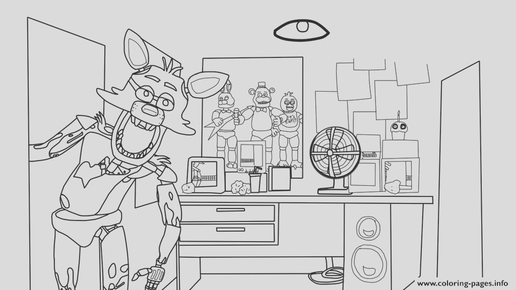 five nights at freddy house five nights at freddys fnaf printable coloring pages book