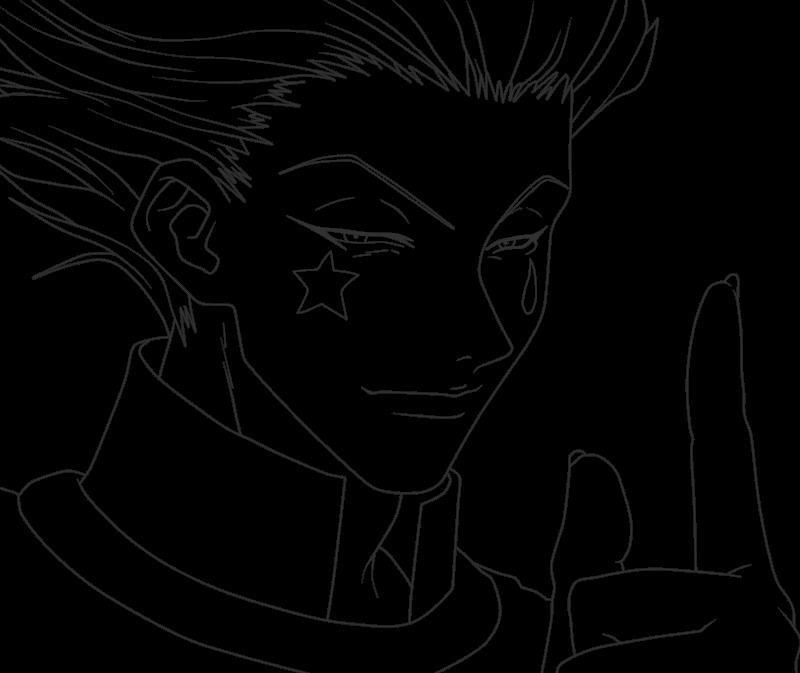 hunter x hunter gon coloring pages sketch templates