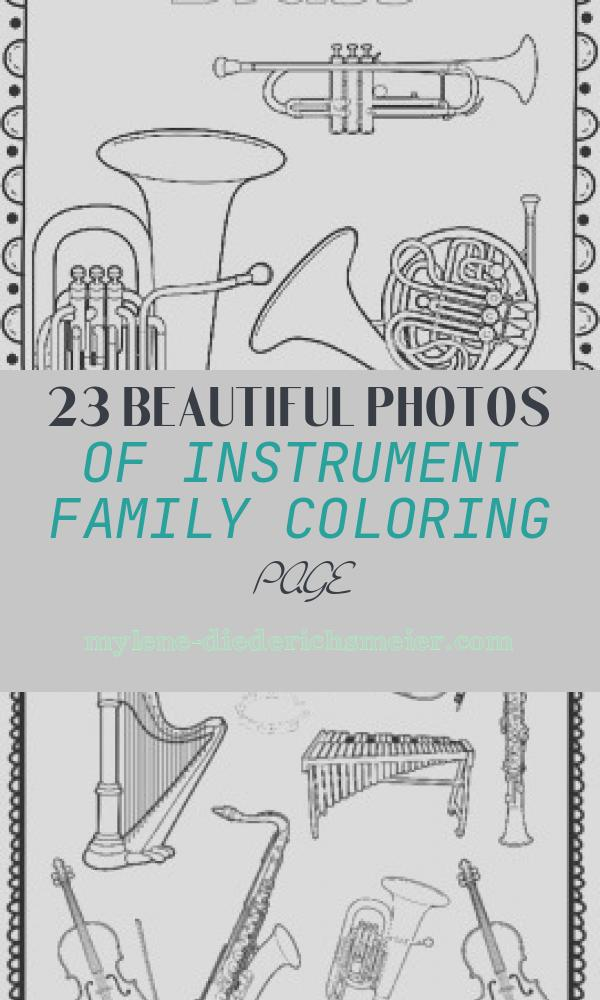 Instrument Family Coloring Page Awesome Instrument Family Coloring Sheets 12 Pages
