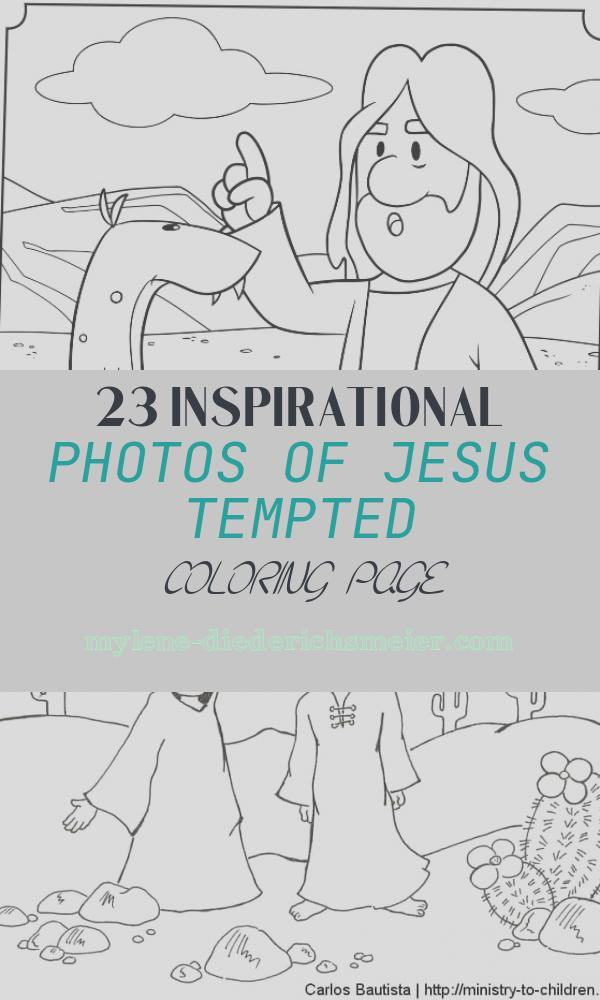 Jesus Tempted Coloring Page Inspirational Jesus Tempted Bible Coloring Pages