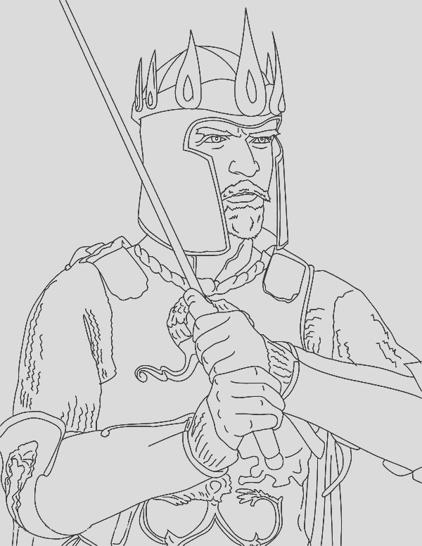 king crown coloring page