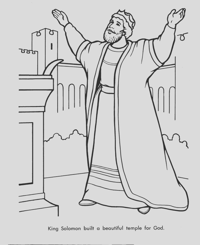 king saul coloring pages