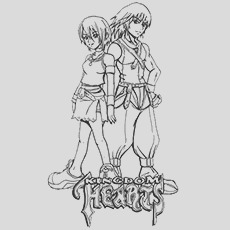 interesting kingdom hearts coloring pages for your little ones