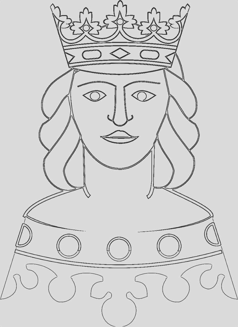 royalty coloring pages