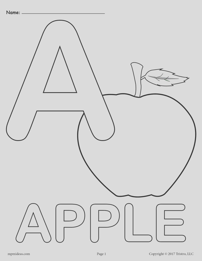 letter a alphabet coloring pages 3 free printable versions