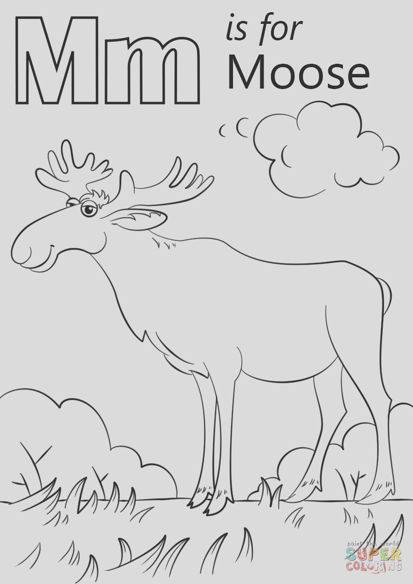 letter m is for moose