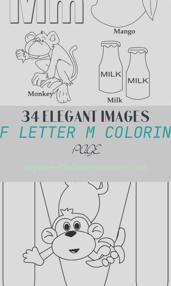 Letter M Coloring Page Elegant My A to Z Coloring Book Letter M Coloring Page