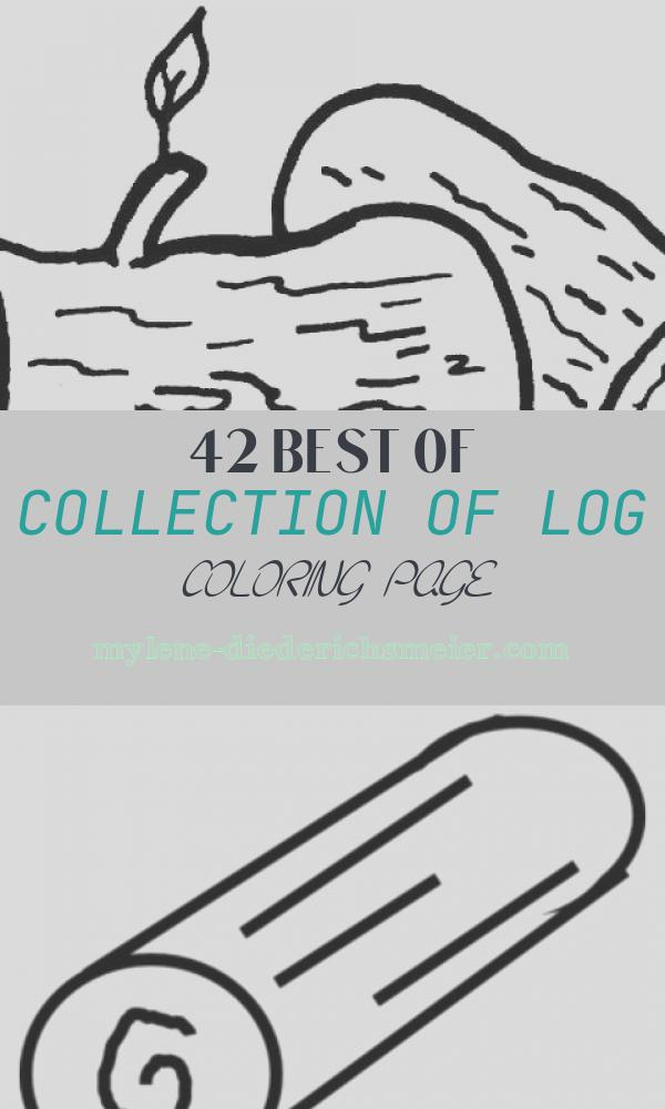 Log Coloring Page Luxury Logs Coloring Page